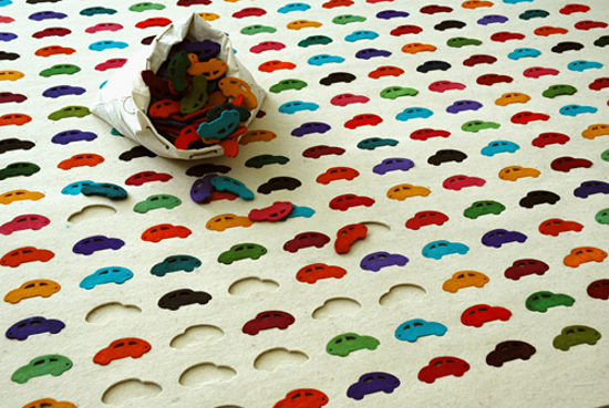 cars carpet inspired by transportation