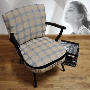bezena retro arm chair by melki
