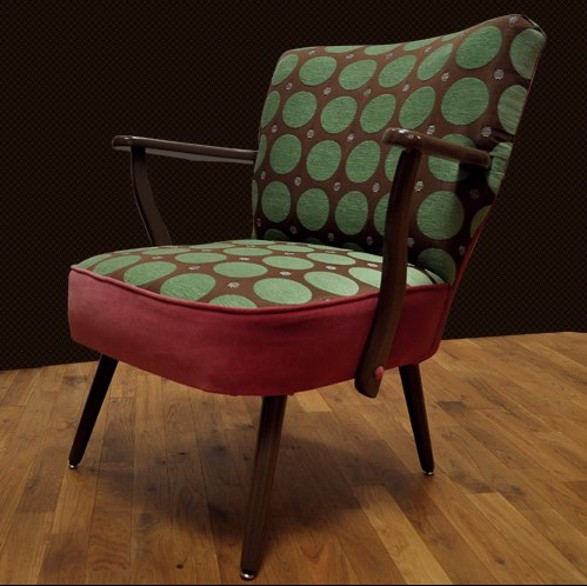 Vintage and modern retro chairs and arm chairs by Melki Yummy