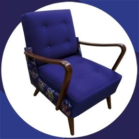 ptoszki retro arm chair by melki