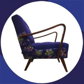 vintage arm chair by melki