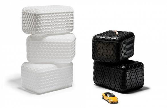 sugar cubes storage and seat